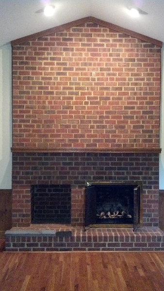 Making of a Grand Fireplace (and Family Room) - Mako Builders, Inc.